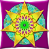 Kaleidance. An animated kaleidoscope that creates the images